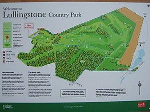 Lullingstone Country Park -  Lullingstone Country Park Information Board
