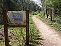 Information board at New Lount Nature Reserve - geograph.org.uk - 911992.jpg