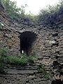 Inside Naugolnaya tower, Koporye Fortress.jpg