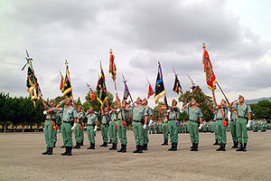 Spanish Army - Members of the Spanish Legion.