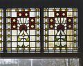 Interieur, aanzicht glas-in-loodbovenlicht - 's-Gravenhage - 20366049 - RCE.jpg