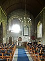 Interior, Parish Church of St Leonard, Downham - geograph.org.uk - 538027.jpg