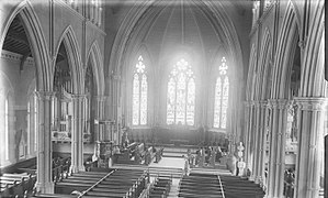 Cathedral Church of St. James (Toronto) - The Cathedral interior in 1896