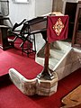 Interior of St John the Baptist, High Toynton - geograph.org.uk - 476954.jpg