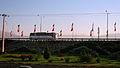 Interlace - end of 17 shahrivar st - flags of Iran-Nishapur 09.JPG
