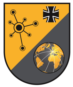 Cyber and Information Space Command (Germany) - Insignia
