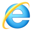 Logo des Windows Internet Explorer 9, 10 und 11