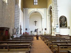 San Domenico, Orvieto - Interior of the church.