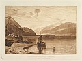 Inverary Pier, Loch Fyne, Morning (Liber Studiorum, part VII, plate 35) MET DP821402.jpg