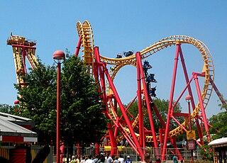Invertigo (roller coaster) Kings Island
