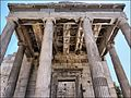 Ionic columns in the porch of the Caryathids - panoramio.jpg
