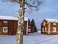 Isokyrö museum buildings in winter Isokyrö Finland.jpg