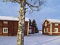 Isokyrö museum buildings in winter Isokyrö Finland.jpg