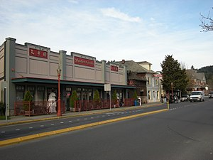 Issaquah, Washington - Sunset Way, downtown Issaquah