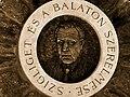 Istvan Szivos Sr bronze relief-Szigliget.JPG