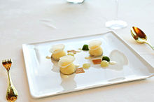 A Course In A Michelin Starred Restaurant In Tokyo Japan