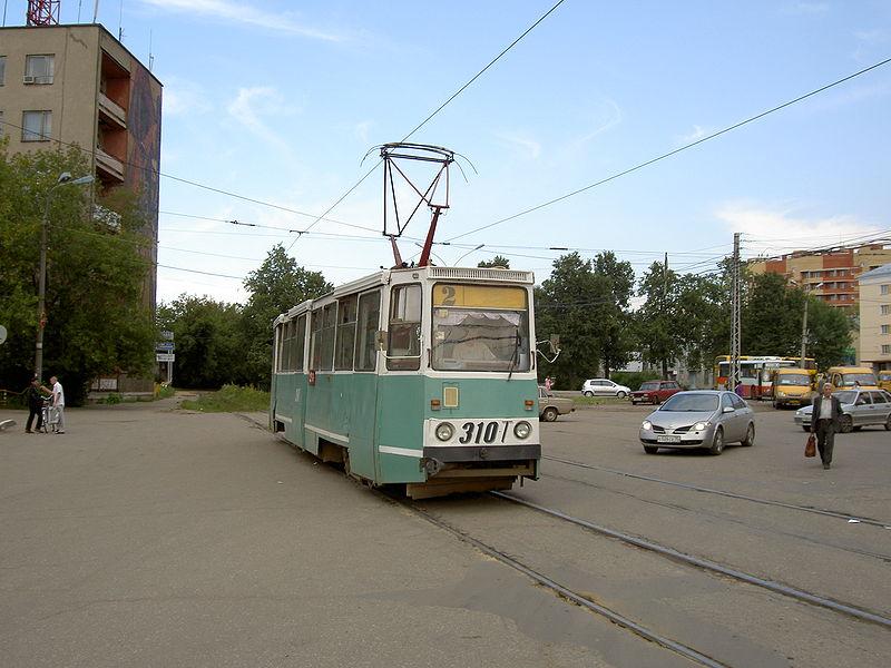 В 2008 г. пришёл черед трамвая