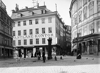 Järntorget (Stockholm) - Järntorget 1902.