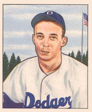 Jack Banta (baseball) - Image: Jack Banta 1950Bowman