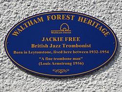 Jackie free (waltham forest heritage)