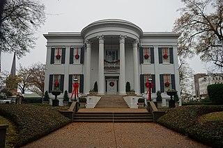 Mississippi Governors Mansion building in Mississippi, United States