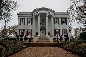 Mississippi Governor's Mansion - Image: Jackson December 2018 34 (Mississippi Governor's Mansion)