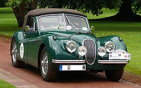 Jaguar XK120 Drop Head Coupe