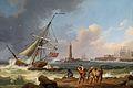 Jakob Philipp Hackert - Der Hafen von Livorno mit der Rettung Schiffbrüchiger.jpg