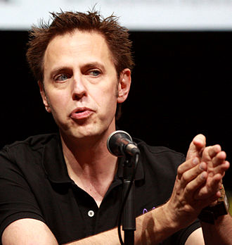 James Gunn - Gunn promoting Guardians of the Galaxy at San Diego Comic-Con, 2013