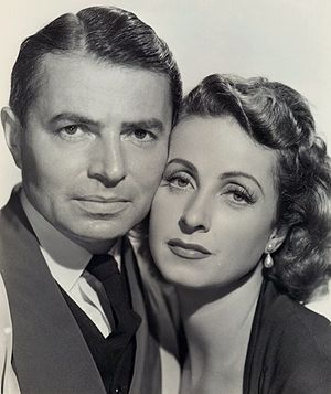 5 Fingers - James Mason and Danielle Darrieux in Five Fingers (publicity shot)