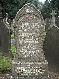 James Prescott Joule gravestone.JPG