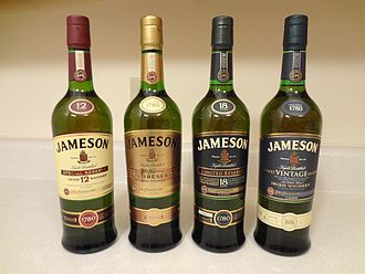 Jameson Irish Whiskey - Image: Jameson Collection