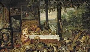 The Five Senses (series) - Taste, 1618