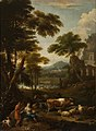 Jan Frans van Bloemen (1662-1749) - A Wooded Landscape with Figures - 108885 - National Trust.jpg