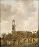 Jan van Goyen - Cathedral of Utrecht Cat463.jpg