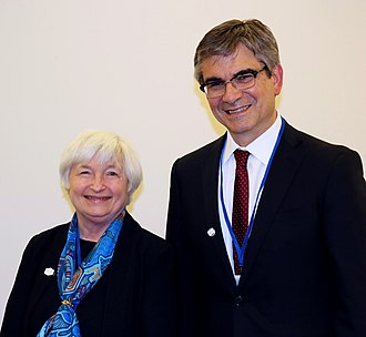 Janet Yellen - Yellen with Mario Marcel in 2017
