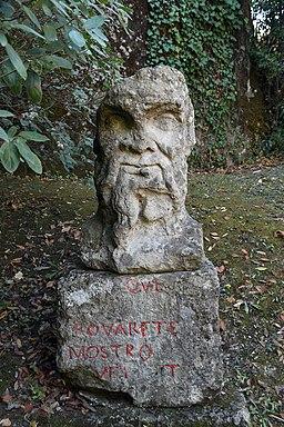 Janus in the Parco dei Mostri (Bomarzo)