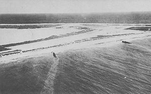 Battle of Wake Island - Japanese Patrol Boat No.32 (left) and Patrol Boat No.33