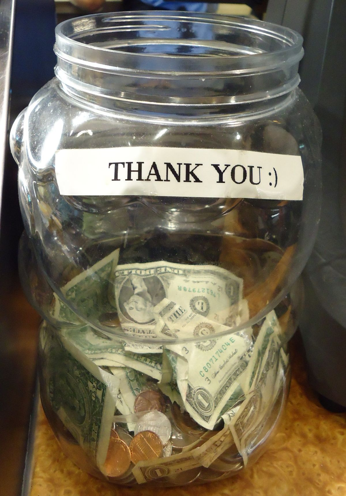Tip Jar Wikipedia
