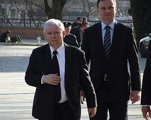 Law and Justice - Jarosław Kaczyński and Andrzej Duda, 18 April 2013
