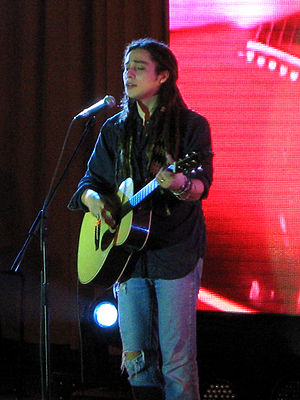 Jason Castro (singer) - Castro in the Philippines to promote his EP and album