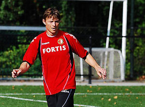 Jon Dahl Tomasson - Tomasson training with Feyenoord, August 2008