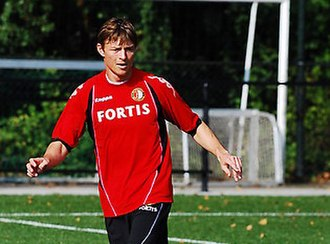 Jon Dahl Tomasson - Tomasson training with Feyenoord, August 2008