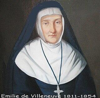 Émilie de Villeneuve French nun and saint