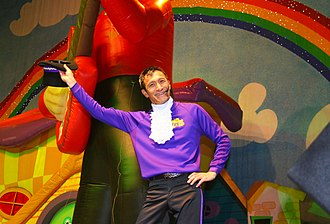 Jeff Fatt - Jeff Fatt of The Wiggles, 2007