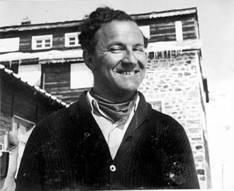 George Jellicoe, 2nd Earl Jellicoe - Jellicoe during a skiing holiday.