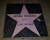 Jenni Rivera's star.