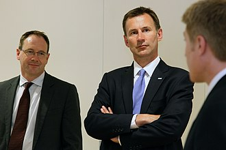 Jeremy Hunt - Jeremy Hunt during a trip to the US, in 2013