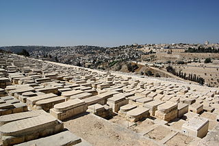 Mount of Olives Jewish Cemetery cemetery in Jerusalem, Israel