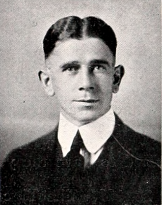 Edward Donahue - Donahue at Clemson in 1920
